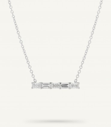 ZIP FIVE NECKLACE 0.64 ct