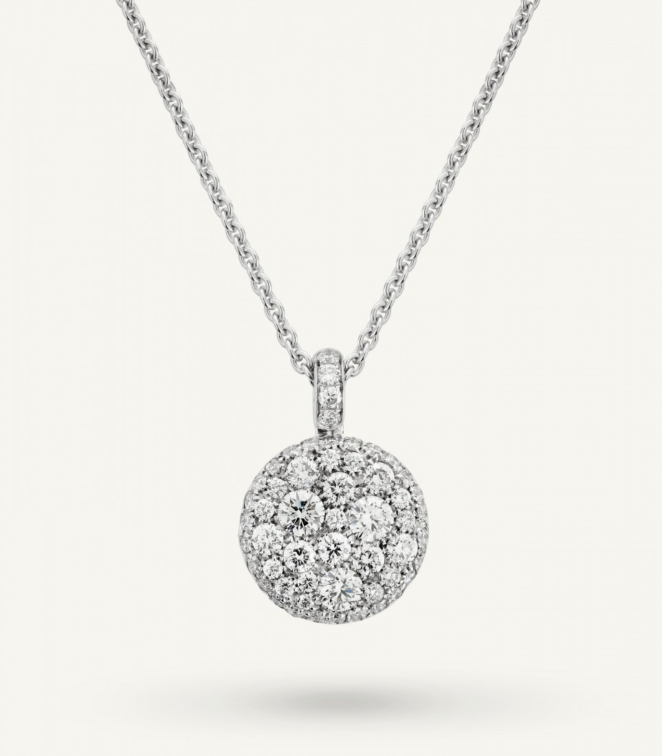 PLANET NECKLACE 0.75 ct