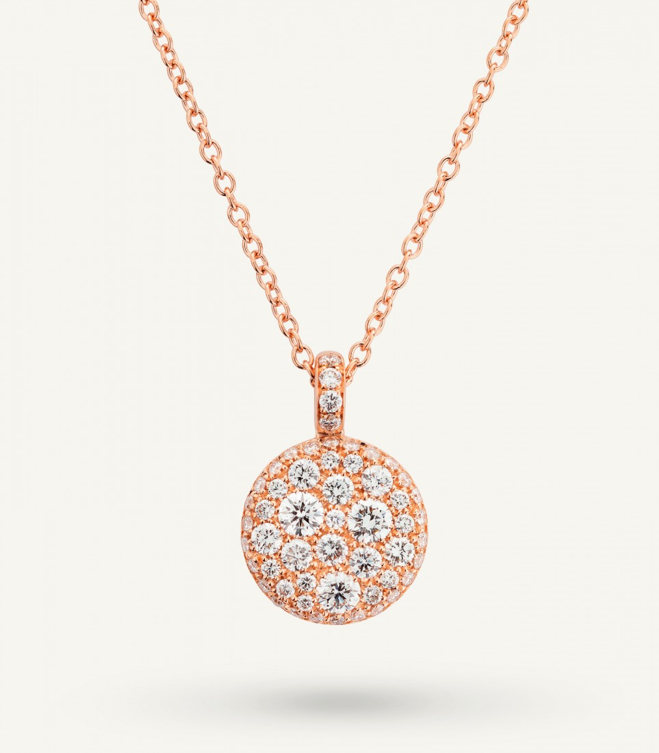 COLLANA PLANET 0.75 ct