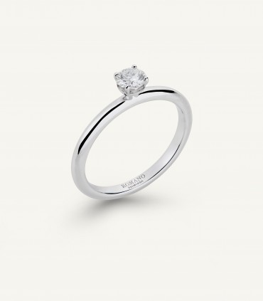 ROMANTIC CASTEL SOLITAIRE RING 0.20 ct