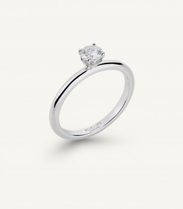 ANELLO SOLITARIO ROMANTIC CASTEL 0.30 ct