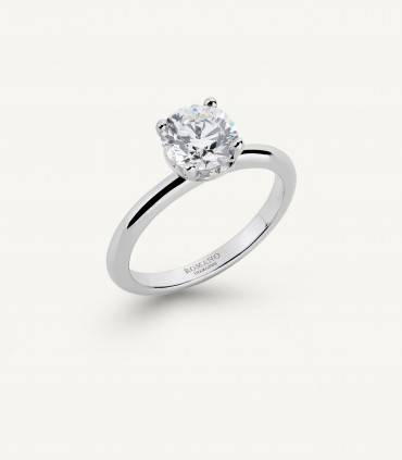 ROMANTIC CASTEL SOLITAIRE RING 1.00 ct