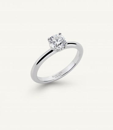ANELLO SOLITARIO ROMANTIC CASTEL 0.70 ct