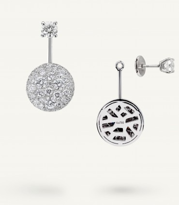 PLANET EARRINGS 1.70 carati