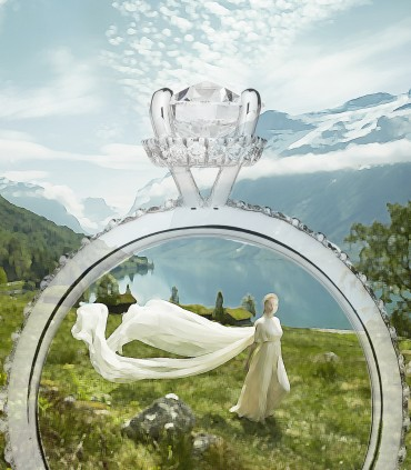 CHOOSING AN ENGAGEMENT RING: 8 STYLE TIPS TO MATCH IT WITH YOUR WEDDING DRESS