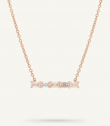 COLLANA ZIP FIVE 0.64 ct