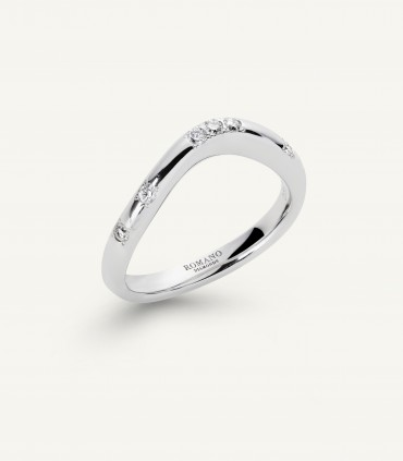 FIDELITY RING wave 0.15 ct